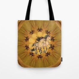 HORSES - The Buckskins Tote Bag