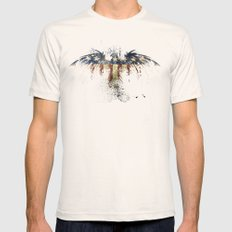 American Eagle 2X-LARGE Natural Mens Fitted Tee