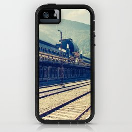 Canfranc Station iPhone Case