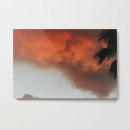 Stomy Sunset Metal Print