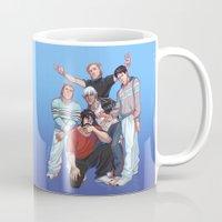 boys Mugs featuring Kirkwall Boys by VIKTOPIA
