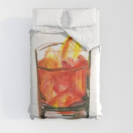 Negroni Cocktail Hour Comforters