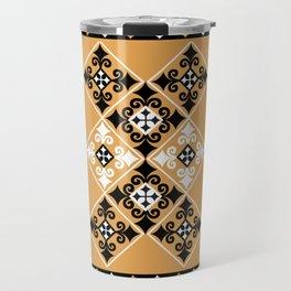 Thundu kunaa (black and yellow) Travel Mug