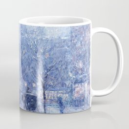 Late Afternoon, New York, Winter - Digital Remastered Edition Coffee Mug