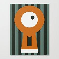 LOCKDOWN Canvas Print