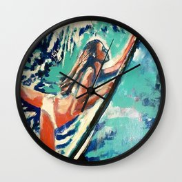The perfect Wave Wall Clock