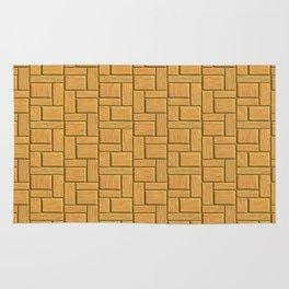 Mustard Blocks Rug