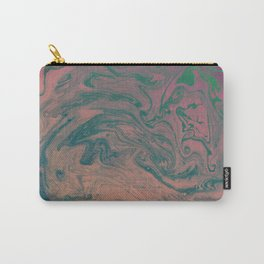 Pink Neon Marble - Earth Gum #nature #planet #marble Carry-All Pouch