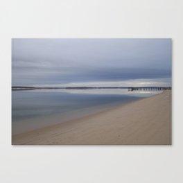 A Cold Long Island Canvas Print