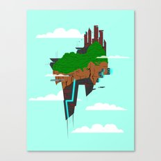 Skyward Metropolis Canvas Print