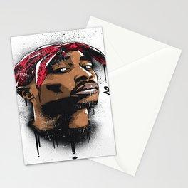 Tupac's Potrait Stationery Cards