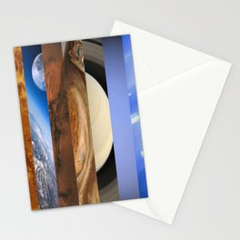 Nine Planets Stationery Cards