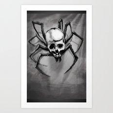 Skulltula Zelda Art Print