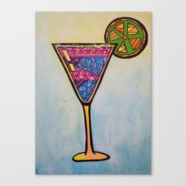 Sparkling Martini Canvas Print