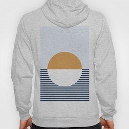 Sunset Sea Abstract Hoody