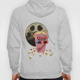 3D Movie Reel and Buttered Popcorn Hoody