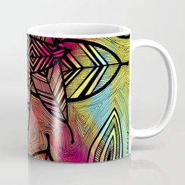 Crazy Leaves  Coffee Mug