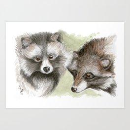 You and Me-Monogamy Art Print