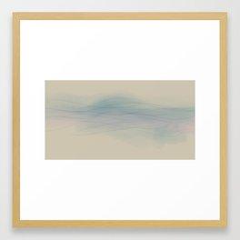 Quiet waters Framed Art Print