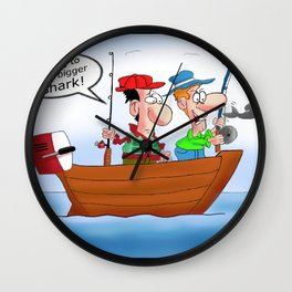We're going to need a bigger shark! Wall Clock