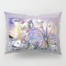Arrival of Jester B. Pillow Sham