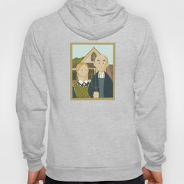 American Gothic by Grant Wood Hoody