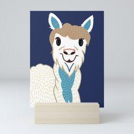 Happy Lama Mini Art Print