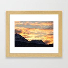 Good Morning Last Frontier! Framed Art Print