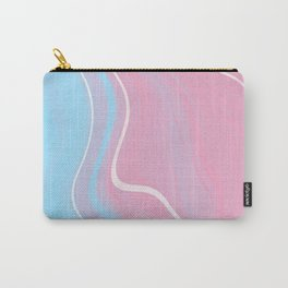 Bubblegum Marble 1 Carry-All Pouch