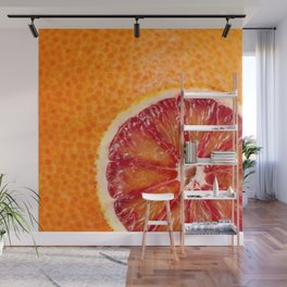 Blood Grapefruit Wall Mural