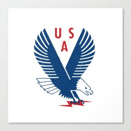 USA War Eagle Canvas Print