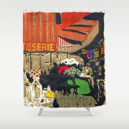 Edouard Vuillard The Bakery Shower Curtain
