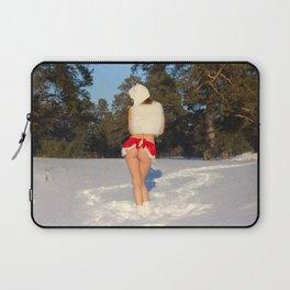 christmas girl Laptop Sleeve