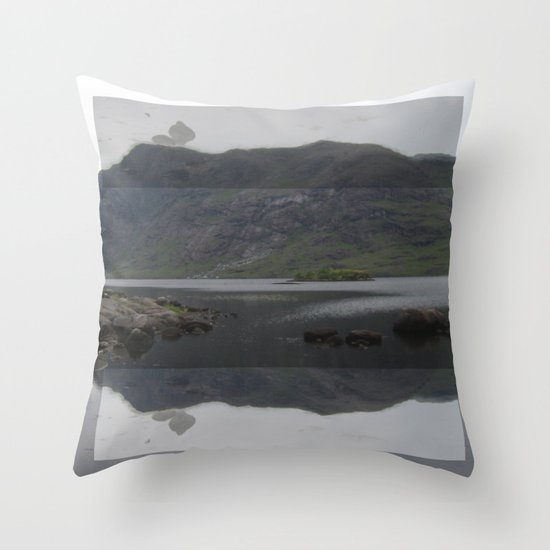 FORCED MIRROR III. Throw Pillow