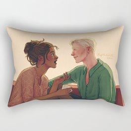 Tea and Talk Rectangular Pillow