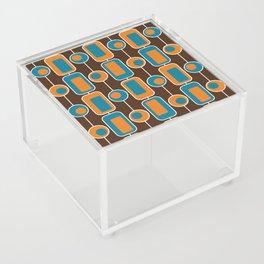 Orange Square Acrylic Box