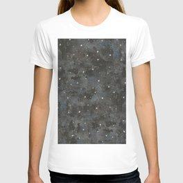 Watercolor Black Starry Sky Robayre T-shirt