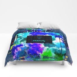 Perfume Dark Grunge Comforters