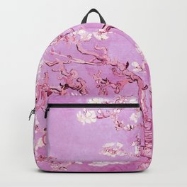 Vincent Van Gogh Almond BlossomS. Pink Lavender Backpack