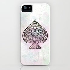 ace card iPhone (5, 5s) Slim Case