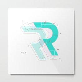 Reductionism Metal Print