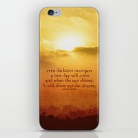 lord of the rings iPhone & iPod Skins featuring LORD OF THE RINGS  by Brittney Weidemann