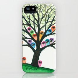 Shasta Owls in Tree iPhone Case