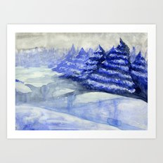 Fictional Landscape II Art Print