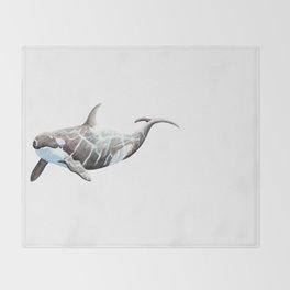 Orca 2012 Throw Blanket