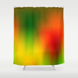 Rasta Splash Shower Curtain