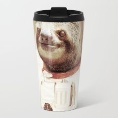 Sloth Astronaut Travel Mug