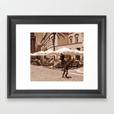 Spanish Center Framed Art Print