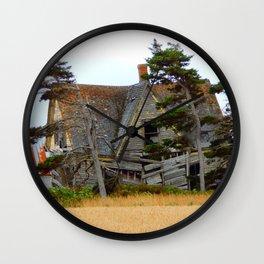 Broken Down Wall Clock