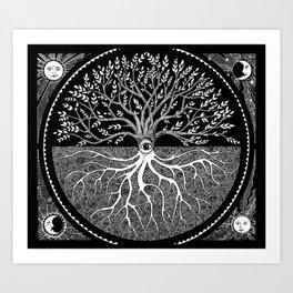 Druid Tree of Life Art Print